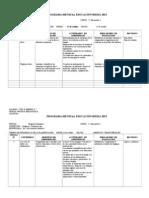 Modelo Planificacion Mensual