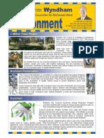 environment newsletter