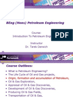 Introduction to Petroleum Engineering - Lecture 2