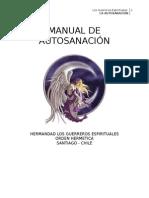 Manual Autosanación
