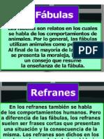 fábulas - refranes