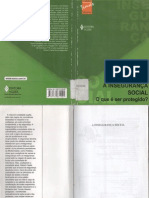CASTEL, R. A insegurança social