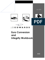 People Soft Enterprise One Euro Conversion Workbook