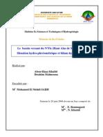 Le Bassin Versant Du n Fis Haut Atlas de Marrakech Situation Hydro Pluviometrique Et Bilans Hydrologiques