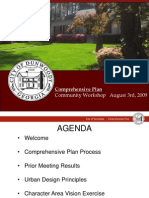 August 3rd Dunwoody Comp Plan Presentation Preview
