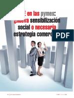RSE en las pymes ¿nueva sensibilización social o necesaria estrategia comercial