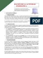DEMOSTRACIÓN DE LA ACTIVIDAD ENZIMÁTICA