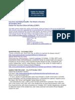 Vaccines and Global HeVaccines and Global Health
