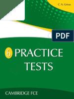 6 Practice Tests Fce St