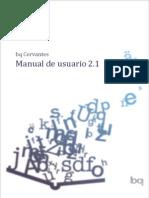 Bq Cervantes Manual
