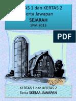Sejarah K1 K2 T4 SPM serta Skema Jawapan.pdf