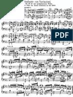 Mendelssohn Andante and Variations Op.82