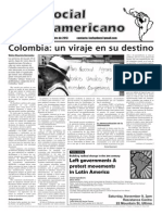 `Foro Social Latinamericano', October 2013 issue