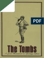 1988 Tombs Menu