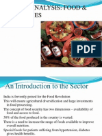 Sector analysis_food and beverages.ppt