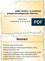Acute Gallbladder Torsion - A Continued Preoperative