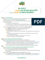 SFP Bulletin Adhesion 2013