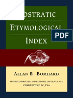 146463135 Nostratic Etymological Index