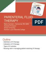 Parenteral Fluid