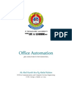 3 Computer Office Automation - Harith