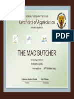 The Mad Butcher .pptx