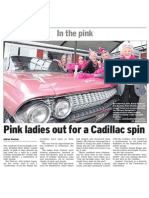 Pink ladies out for a cadillac spin (Southland Times; 2013.10.18)