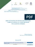 Metodologie RNCIS
