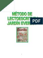 Método Lectoescritura Jardín