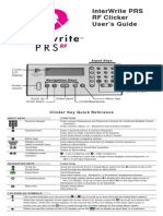 PRS RF Clicker Users Guide C