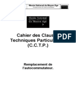 Cluny Telephonie Cctp