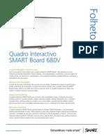 Folheto SMART Quadro SB680V