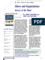 Cultures and Organizations - Software of the mind