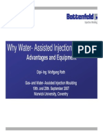 Why Water Assisted Injection Moulding