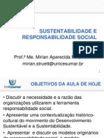 Aula 3 - 08-07-13 - Sustentabilidade e Responsabilidade Social