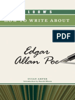 Blooms How to Write About Edgar Allan Poe