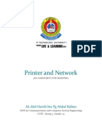 4 Printer and Networks - Harith