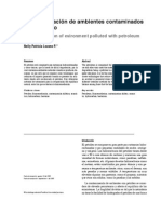 Biorremediacion Ambientes Contaminados Petroleo
