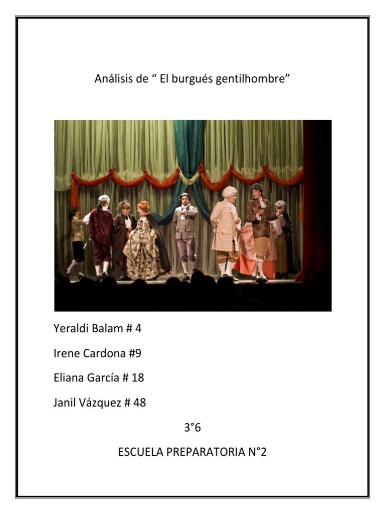 burgues gentilhombre pdf