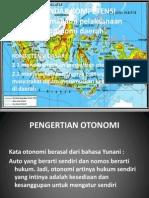 Otonomi Daerah Dan Kebijakan Publik