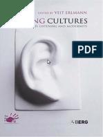 Erlmann Ed2004 Hearing Cultures