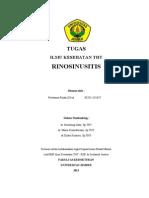 Cover Tugas Rhinosinusitis