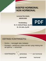 Kontrasepsi Hormonal Fix