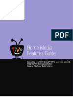 TiVo Home Media Features Guide