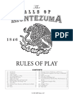 Hal of Montezuma Rulebook