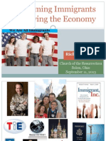 Welcoming Immigrants & Growing the Economy