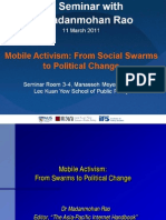 Seminar Mobile-Activism 110311