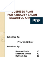 Business Plan for a Beauty Salon
