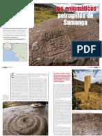 Arte Rupestre de Samanga - Perú