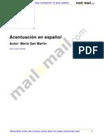 Acentuación en español
