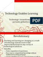 technology enables learning